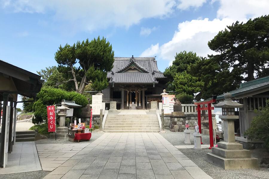 葉山・森戸神社