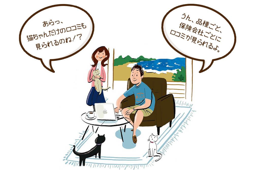 ペット保険・みんなの口コミ メイン画像